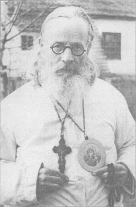 Архиеп. Антоний в Потьминских лагерях. 1950-е.