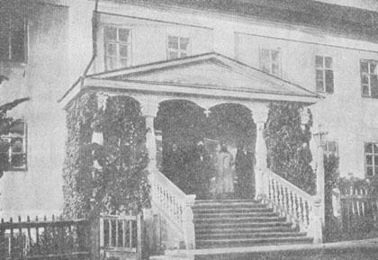 Гостиница для приезжих