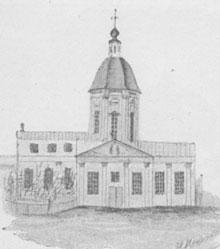 Церковь преп. Зосимы и Савватия, в которой св. престол собственноручно устроен преп. Серафимом
