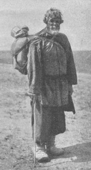 Типы саровских богомольцев. Богомолец из крестьян