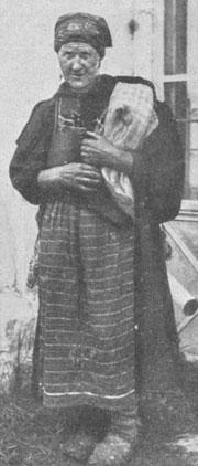 Типы саровских богомольцев. Богомолец из крестьянок